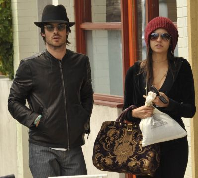 Nina & Ian out in Venice, CA