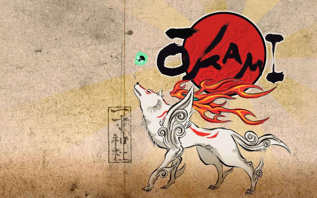 Okami - Okami Amaterasu Wallpaper (12621357) - Fanpop