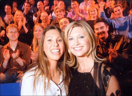 Olivia Newton-John and daughter Chloe