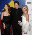 Olivia Newton-John with John Travolta and Kelly Preston