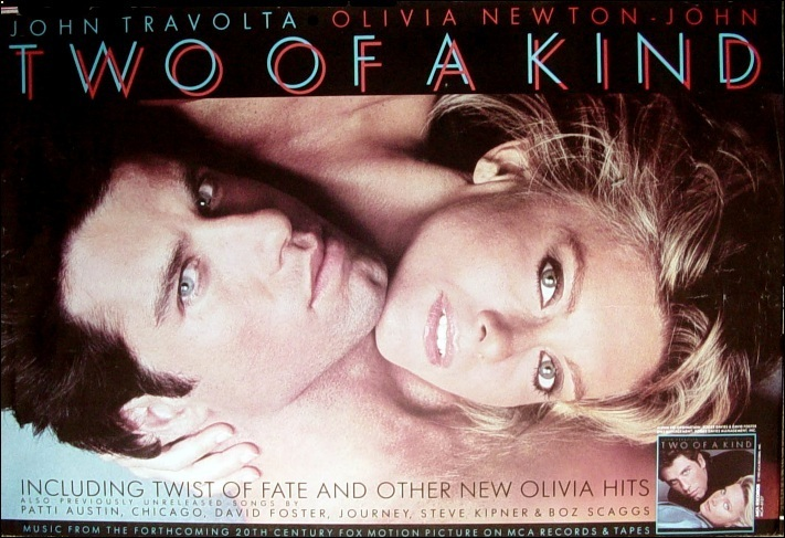 Olivia newton john and john travolta young