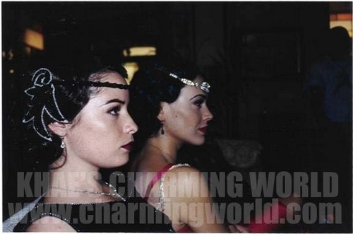 On set of Charmed
