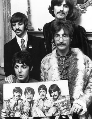 Press Launch for Sgt. Pepper's Lonely Hearts Club Band