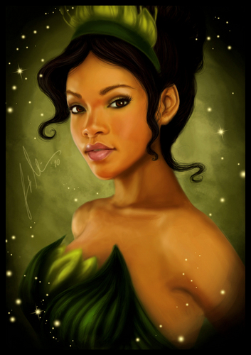 Princess Tiana - disney-princess Fan Art