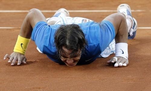 Rafa Nadal at Madrid