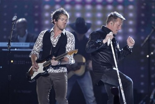 Rascal Flatts ACM awards performance