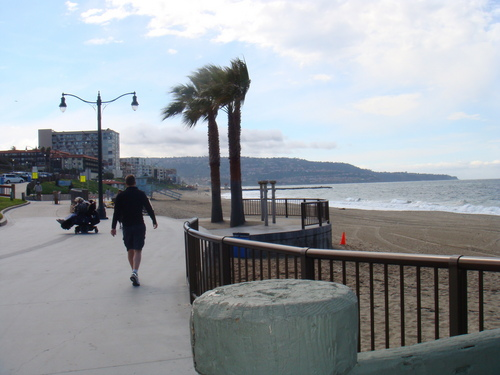 Redondo strand Pier