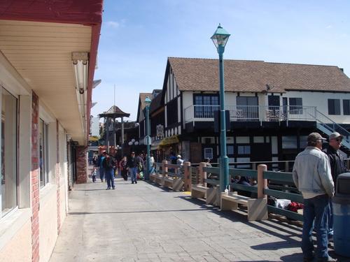 Redondo de praia, praia Pier
