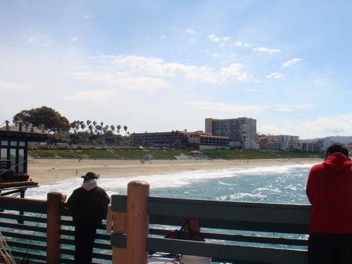 Redondo пляж, пляжный Pier