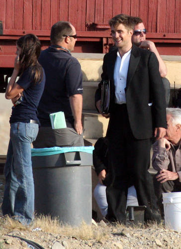 Rob @ the Water for Elephants set