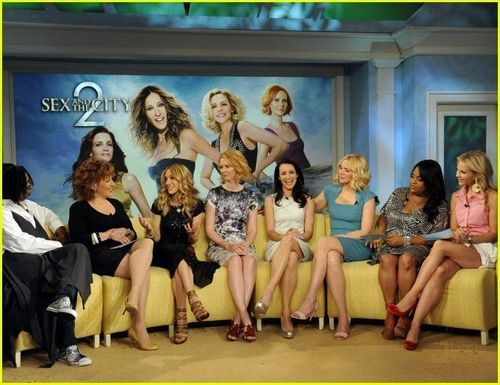 Sarah Jessica Parker wallpaper titled SJP on The View 2010