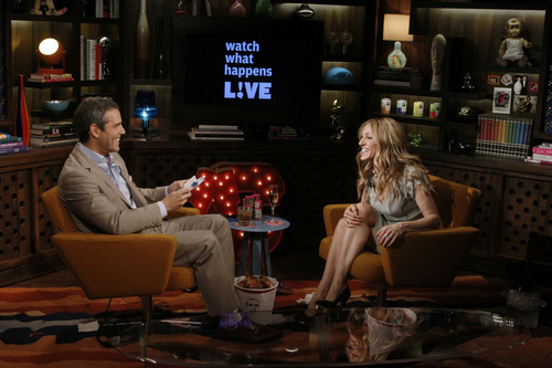 Sarah Jessica Parker wallpaper called SJP on Watch What Happens Live