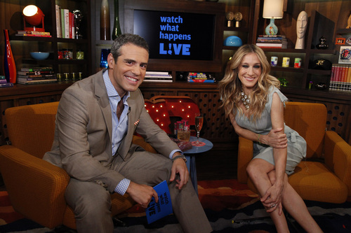 Sarah Jessica Parker wallpaper titled SJP on Watch What Happens Live