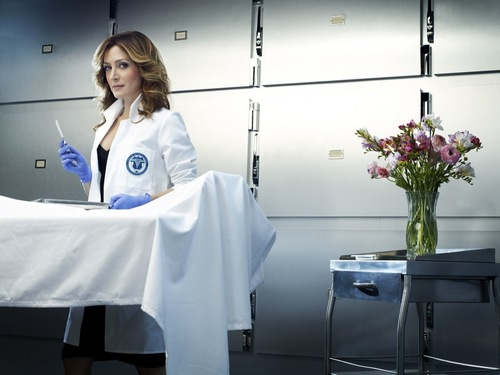Sasha as Maura Isles
