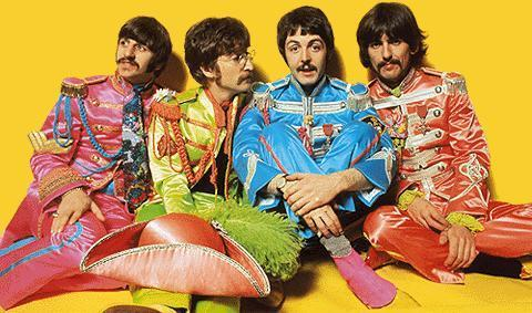 Les Beatles Images Sgt Peppers Lonely Hearts Club Band Fond D