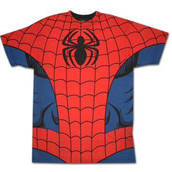 Spider-Man wallpaper entitled Spiderman Costume T-Shirt
