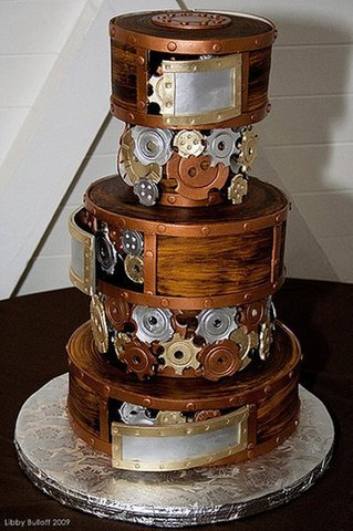Steampunk Cake - steampunk Photo