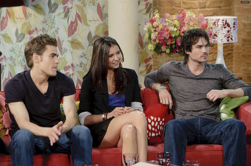 TVD Cast - This Morning (HQ)