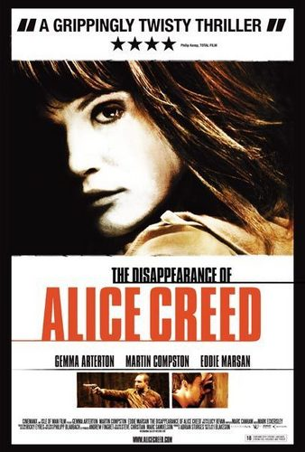 The Disappearance of Alice Creed film poster