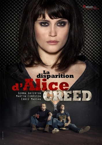 Gemma Arterton fond d'écran called The Disappearance of Alice Creed film poster