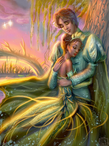 Disney Princess wallpaper called Tiana and Naveen