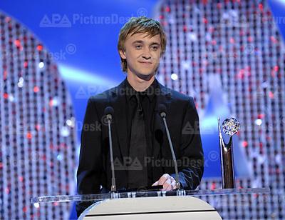 Tom Felton at British Soap awards