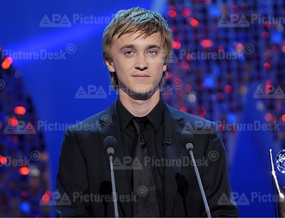 Tom Felton at British Soap awards