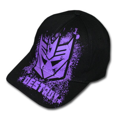 transformers Decepticons Hat from TeesForAll.com