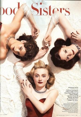 Bryce Dallas Howard پیپر وال titled Twilight Girls In Vanity Fair