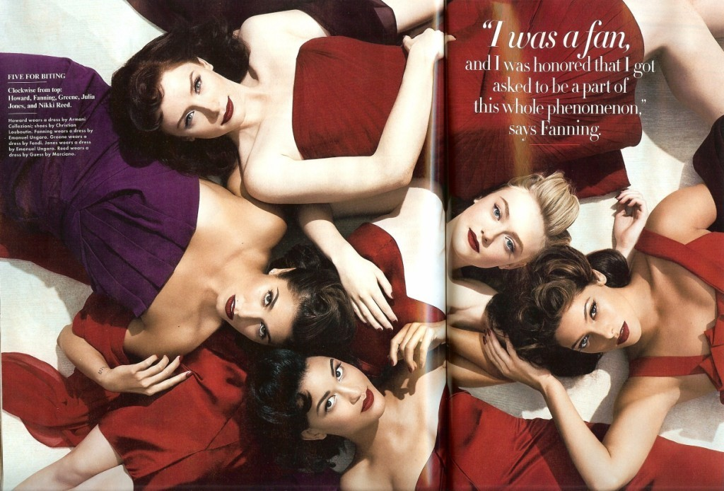 Twilight Girls In Vanity Fair