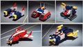 Voltes V's Volt machines (Bandai/Soul of Chogokin) - toy-collecting photo