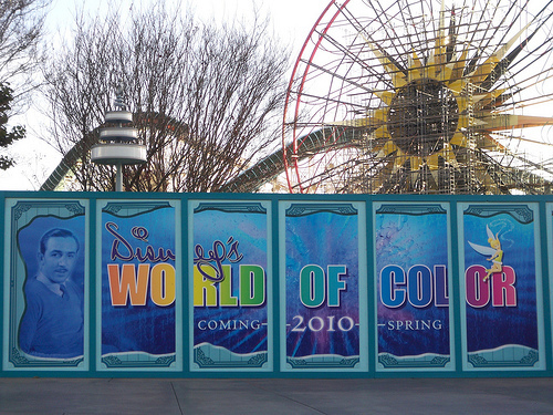 World of Color プレビュー @ Disney's California Adventure