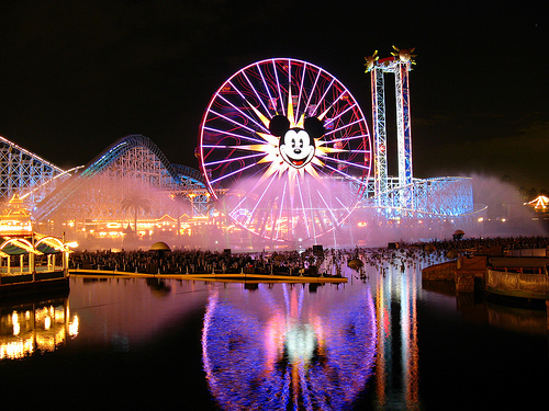 World of Color- Projection Screens