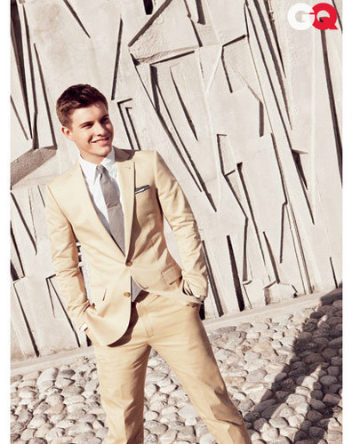 Xavier Samuel تصویر Shoot with GQ Magazine