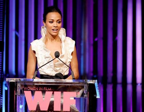Zoe @ 2010 Women In Film Crystal & Lucy Awards