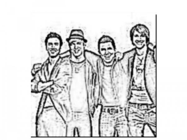 big time rush coloring pages - photo#13