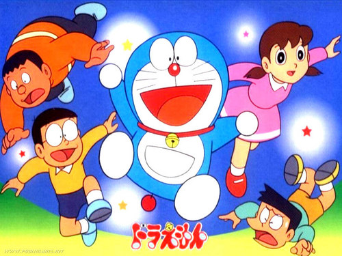 Doraemon wallpaper entitled doraemon_friend