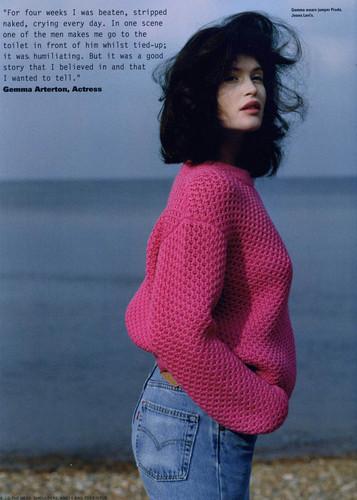 Gemma Arterton wallpaper called i-D Magazine summer 2010