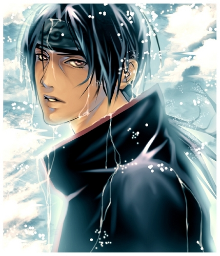 itachi bathing