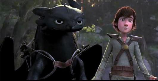 night-fury & hiccup - How to Train Your Dragon Photo (12684429) - Fanpop