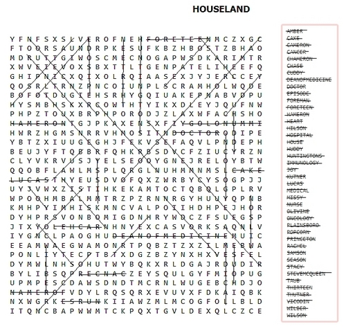 sephs word search