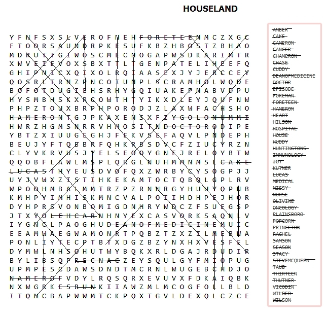 sephs word search - Houseland Photo