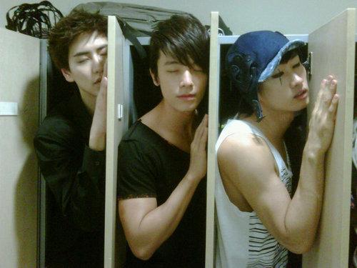 sleepy eunhae and kyuhyun