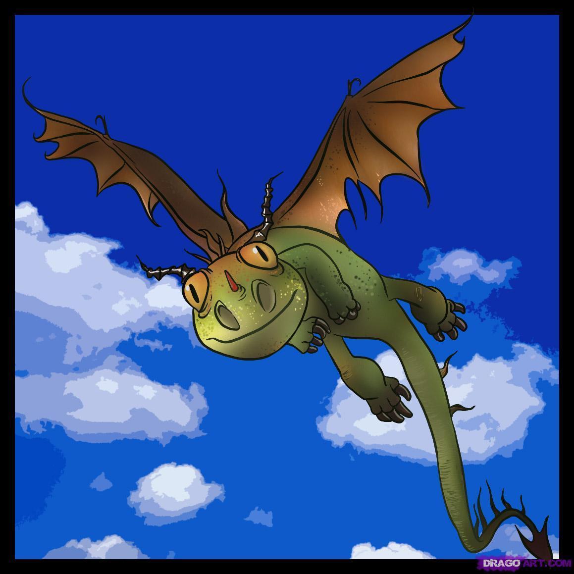 Как приручить дракона жуткая жуть