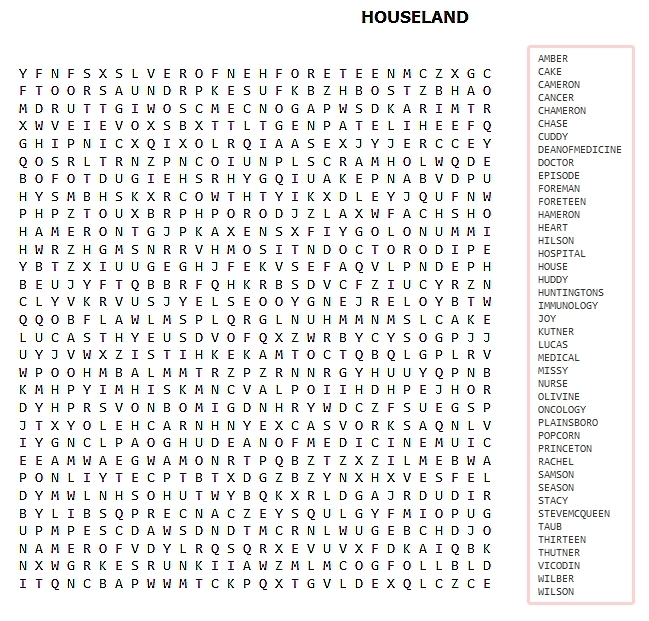 Extremely Hard Word Searches for Pinterest