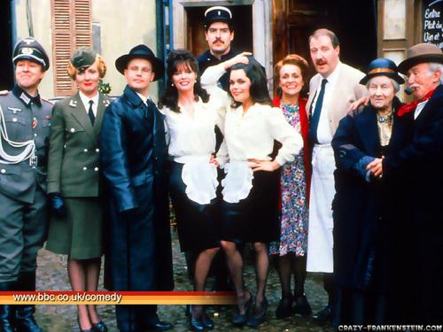 'Allo 'Allo! - BBC sitcom wallpaper titled 'Allo 'Allo!
