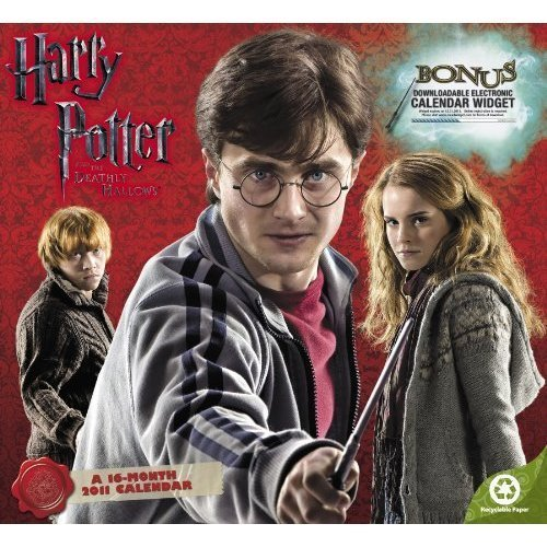 """Deathly Hallows"" calendar"