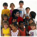 * MICHAEL WITH KIDS * - michael-jackson photo