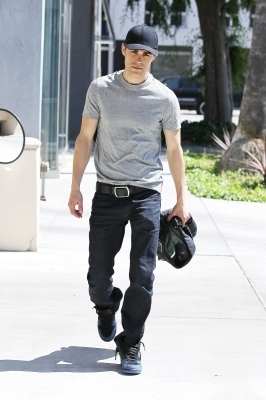 Paul Wesley shops at Diesel boutique in West Hollywood