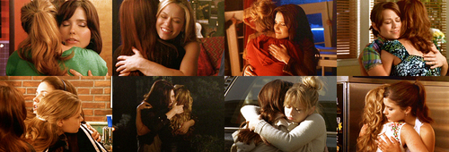 "Brooke and Haley wallpaper entitled ""Their hugs are always precious."""